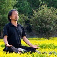 Dada Meditating